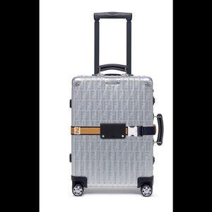 Like new rimowa x fendi travel size